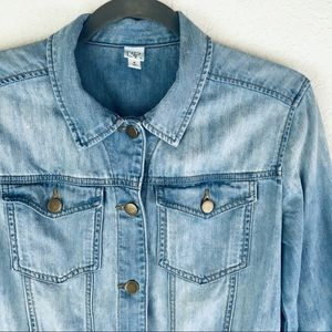 JUST IN!💝{Nordstrom} Vintage Wash Denim Jacket